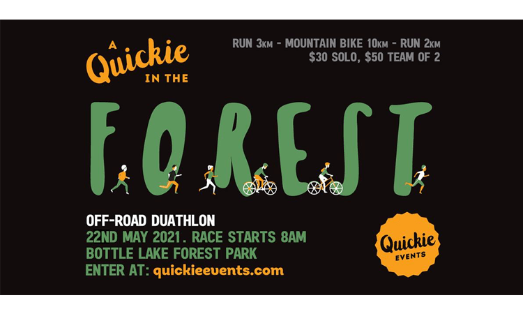 A Quickie in the Forest duathlon Christchurch