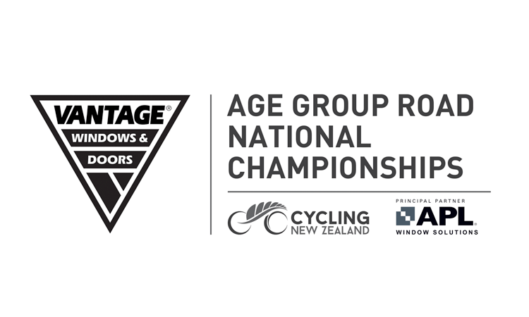 Age Group Road National Championships Cycling New Zealand logo
