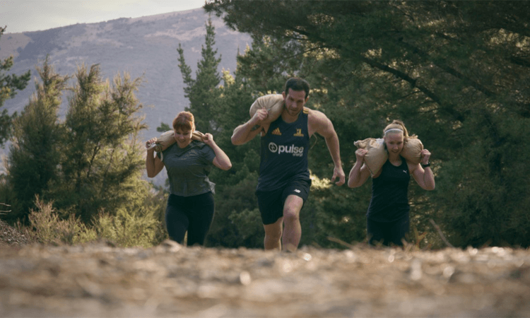 Alpha Challenge Obstacle Course Event Wanaka participants
