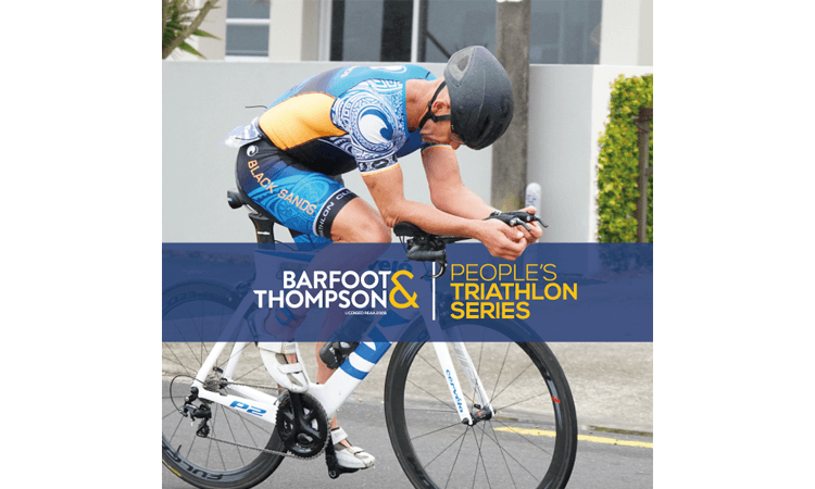 Barfoot and Thompson People's Triathlon Series Race Four Mission Bay Auckland