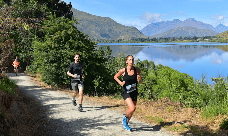 Lake Hayes Run Half Marathon Otago