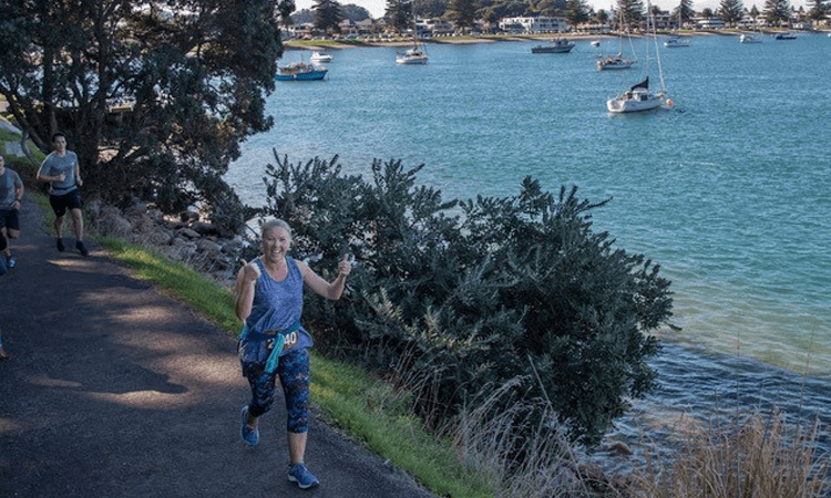 Mt Runners and Walkers Half Marathon Mount Maunganui Mauga base track
