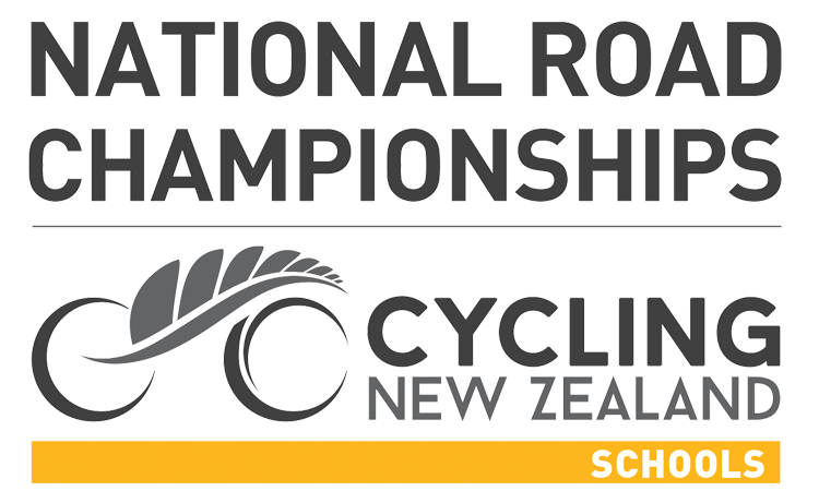 National Road Championships Cycling New Zealand Schools logo