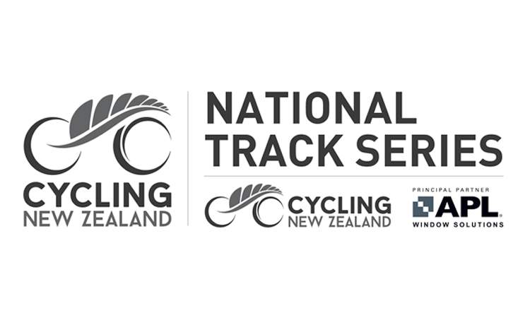 National Track Series Round 1 Cycling New Zealand logo