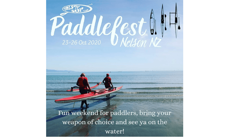Nelson Paddle Fest 2020 poster