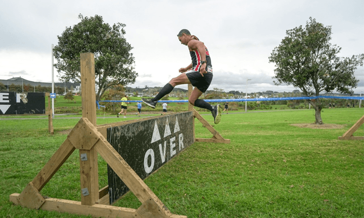 O Rock Auckland Obstacle Challenge hudle
