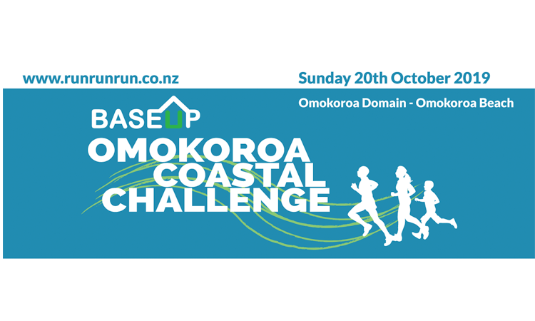 Omokoroa Coastal Challenge Run Walk Bay of Plenty logo