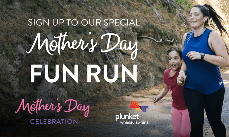 Plunket Mother's Day Fun Run VIRTUAL RUN / WALK