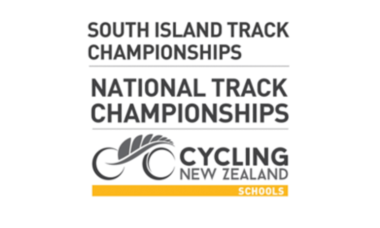 South Island National Track Championships Cycling New Zealand Schools logo