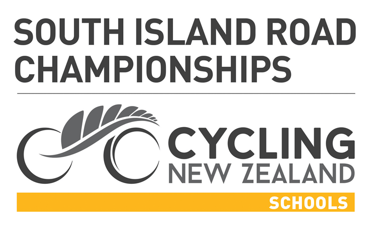 South Island School Road Championships Cycling New Zealand logo