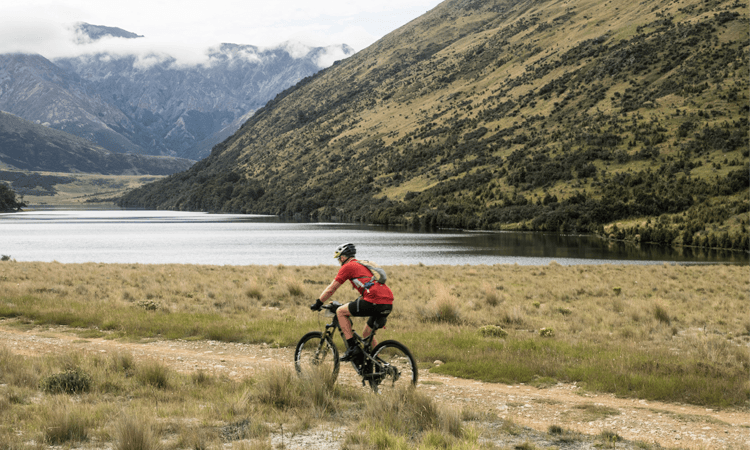 The James Epic XCM Mountain Bike Ride Hanmer Springs Canterbury gravel trail