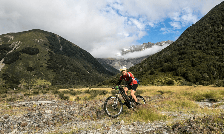 The James Epic XCM Mountain Bike Ride Hanmer Springs Canterbury