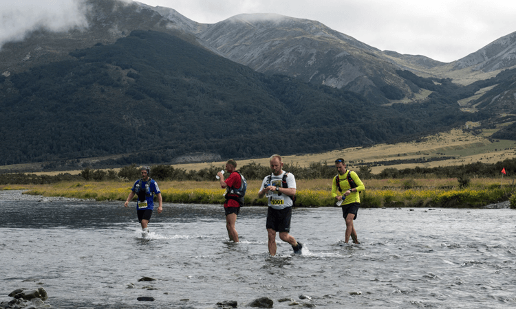 The James High Country 100km Trail Run Hanmer Springs Canterbury River Crossing