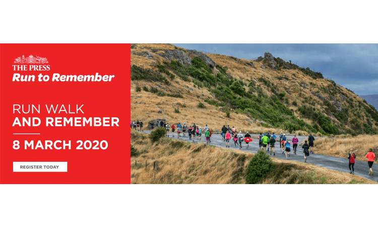 The Press Run and Walk to Remember Canterbury 2020